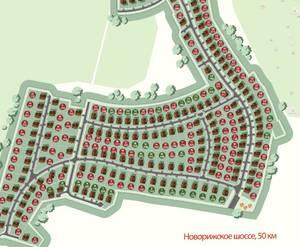 Поселок «Шишкин»: визуализация