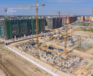 ЖК «Солнечный город»: ход строительства корпуса №10.2