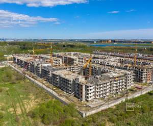 МЖК «Зеленый квартал»: ход строительства 1 очереди, корпус №3