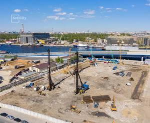 ЖК «Эмеральд на Малой Неве»: ход строительства корпуса №3