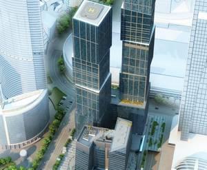МФК «Город столиц»: визуализация
