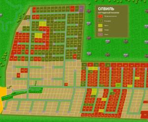 КП «ОлВиль»: визуализация