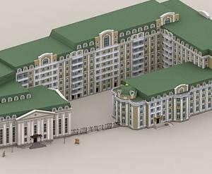 ЖК «Опера Хаус»: визуализация