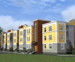 Жилой комплекс «Дом на Лесной улице»: визуализация