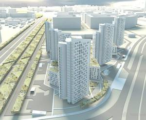 ЖК «Белорусский квартал»: визуализация