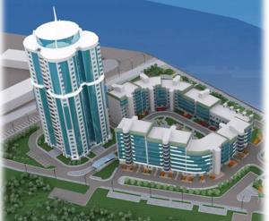 ЖК «Альбатрос»: визуализация проекта