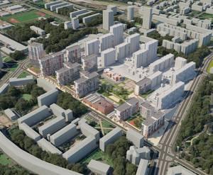 ЖК на месте пивзавода «Вена»: визуализация