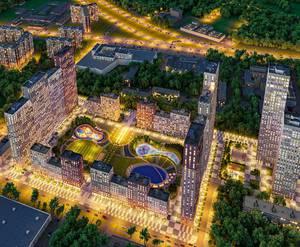 ЖК «Селигер Сити»: визуализация