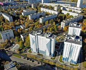 ЖК «на Судостроительной улице»: вид сверху