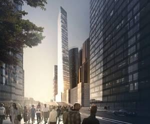 ЖК One Tower: визуализация