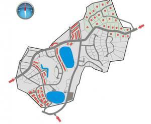 КП «Токкари-Лэнд»: генплан-схема