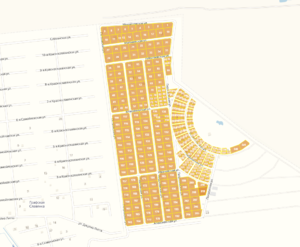 Коттеджный поселок  «Покровское»: генплан