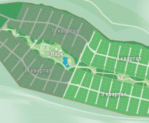 КП «Репино Парк»: генплан