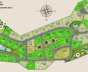 Коттеджный посёлок «Ламбери»: генплан