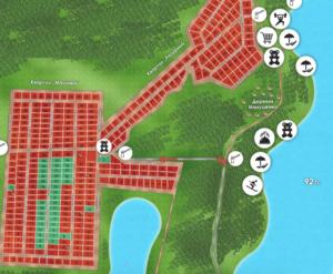 КП «Лазурные Озера»: лазурные озёра