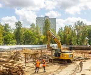 ЖК на улице Чёрное Озеро: ход строительства (июль)