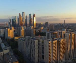 МФК «RedSide»: фото с воздуха