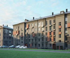 МФК «Парковая. Апартаменты»: визуализация