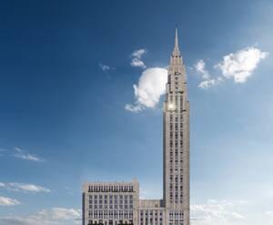 МФК Alcon Tower: визуализация