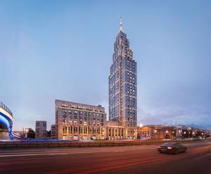 МФК Alcon Tower: визуализация