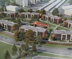 ЖК «Новоселье: Городские кварталы»: визуализация квартала «ETA Village»