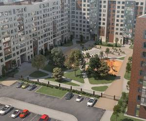 ЖК «Новоселье: Городские кварталы»: визуализация квартала «Уютный»