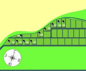 КП «Аро»: план посёлка