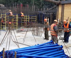 МФК «Лес»: ход строительства (август)