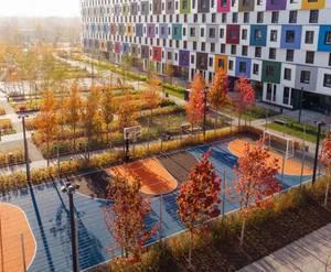 «Green Park»: визуализация