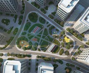 ЖК «ВТБ Арена Парк»: визуализация