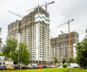 ЖК на улице Константина Федина: ход строительства (июль 2019)