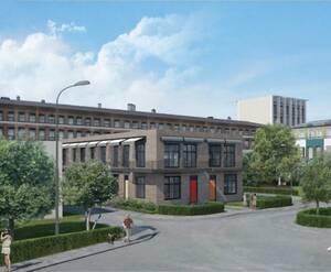 МФК Narva Loft: визуализация