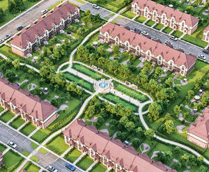 Поселок «Юсупово Лайф Парк»: визуализация
