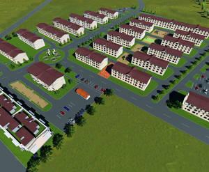 ЖК «Молодежный квартал»: визуализация