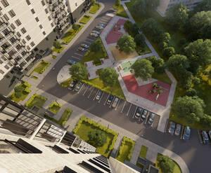 ЖК «Зеленый квартет»: визуализация