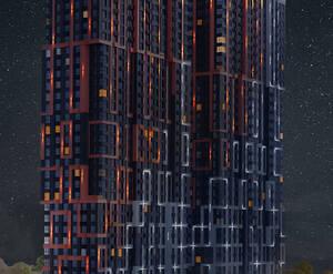 ЖК «Огни»: визуализация
