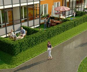 МЖК «Зеленый квартал»: визуализация