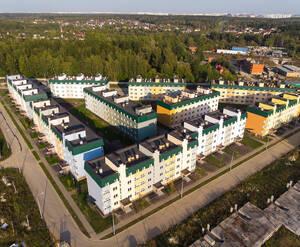 МЖК «Одинцовские кварталы»:ход строительства (ноябрь)