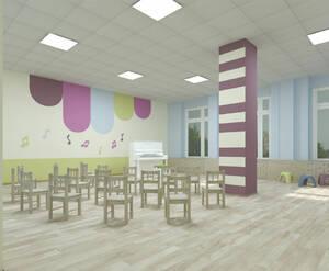 ЖК «Охта Хаус»»: визуализация (детский сад)