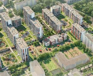 ЖК «Стрижи в Невском»: визуализация