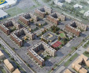 ЖК «Новоселье: Городские кварталы»: визуализация