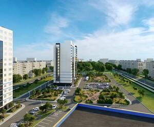 МФК «WINGS апартаменты на Крыленко»: визуализация