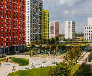 ЖК «Бунинские луга»: ход строительства