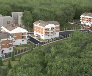 Малоэтажный ЖК «Агалатово»: визуализация
