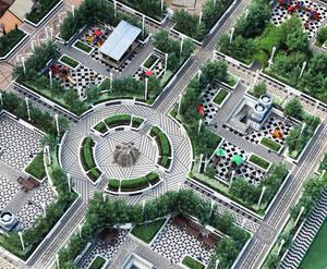Union Park: визуализация