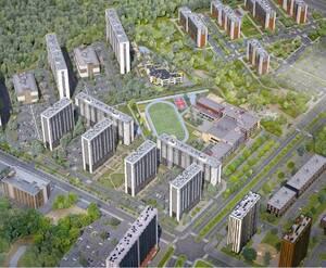 Жилой комплекс «Юнтолово»: визуализация 6 очереди
