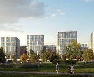 ЖК Victory Park Residences: визуализация