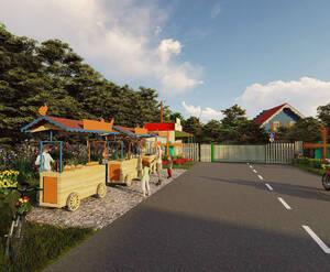 КП «Голландская деревня»: визуализация