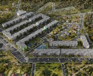 МЖК «Верево-Сити»: визуализация
