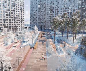 ЖК «Мытищи Парк»: визуализация
